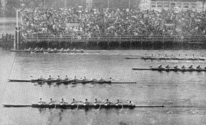 Olympic rowing 1936